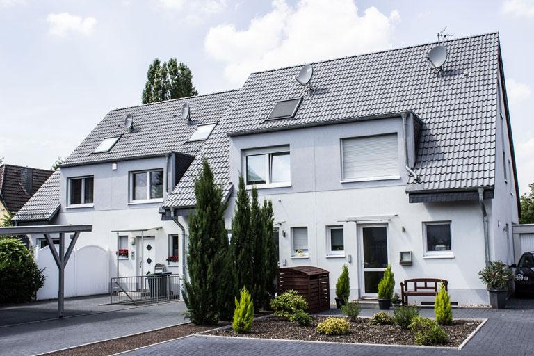 4 Doppelhaushälften in Langenfeld